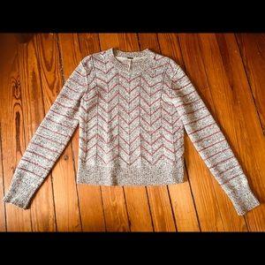 Cute Free People zigzag sweater